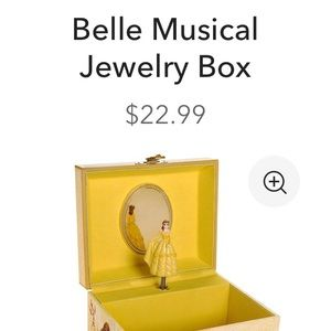 Belle Music and Jewelry box.